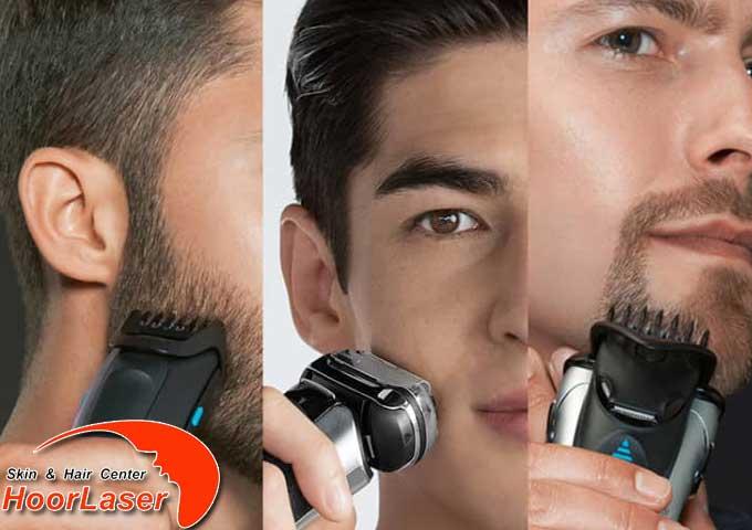 اصلاح ریش با ریشتراش
